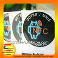 Hot ISO14443A 13.56 MMz NFC Tag usado no telefone esperto