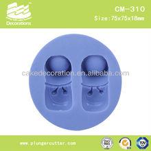 baby shoes silicone fondant mold/mould/sugar craft mould/Gum paste mould