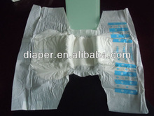Baby Print Adult Diaper with Velcro Tapes