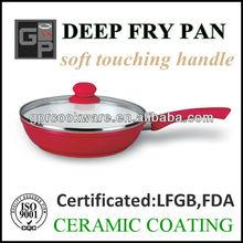 Forged Aluminum Deep Frying Pan (Ceramic Energy Pan)
