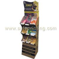 honey stinger floor stand Cardboard displays for promotions