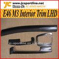 e46 m3 de fibra de carbono interior tablero de instrumentos para bmw e46 lhd