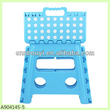 2015 large size 32 cm heigh plastic outdoor folding step stool