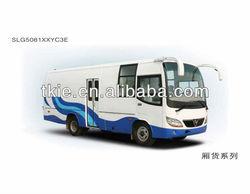 7.5meter SLG5081XXYC3E van cargo truck
