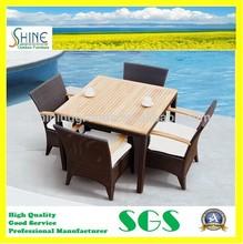 Teak Wood Modern Restaurant Furniture C237-B