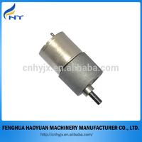dc micro metal gear motor in china factory