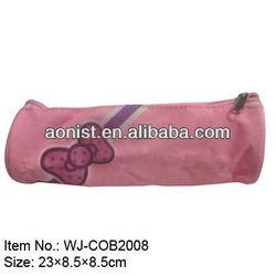 pink school pen bag