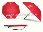 Honda car red custom golf umbrella with bag