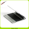 For ipad 3 bluetooth keyboard with stand, OEM aluminum keyboard for iPad 4 BK-M6