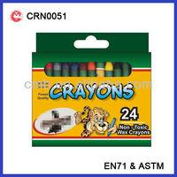 24 COLOR WAX CRAYON SET