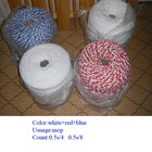 2014 mixed colored cotton mop yarn