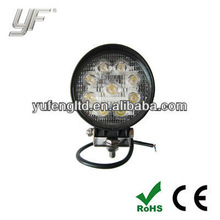 27W off road LED worklight 9pcs*3W high Lumens for trucks, 4X4, SUV, special vehicles