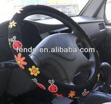 anime car steering wheel cover