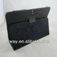 Black Folio PU Leather Case Cover Stand For Samsung Galaxy Tab 2 10.1 P5100 P5110 KSH177