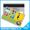 2014 high quality plastic Magnetic stripe card