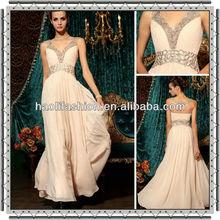 DORISQUEEN drop shipping 2012 real sample newest sexy elegant evening dress
