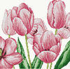 Flowers Chinese cross stitch patterns Tulip,Counted cross stitch