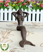 mermaid metal crafts