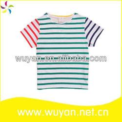 summer korea children t-shirt design wholesale