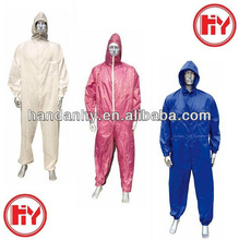 100% Polyester or Nylon Coverall