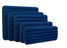 Intex comfortable flocking pvc inflatable air mattress