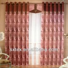 NEW! 2012 Hot Sale Jacquard Blackout Luxury Curtain Fabric Design--HJ032