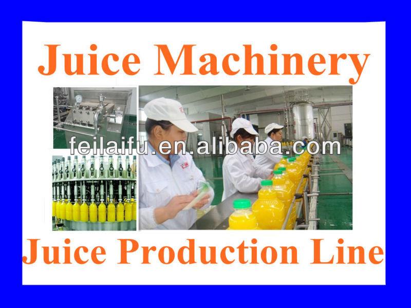 factory juice making machine