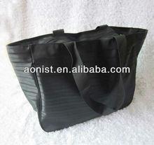 2013 Top Selling black stripe shopping bags
