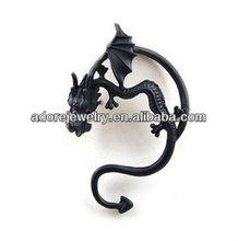 Classic dragon ear cuff wrap earring for women