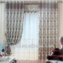 NEW! 2012 Hot Sale Jacquard Blackout Luxury Curtain Fabric Design--HJ877