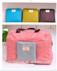 new design nylon foldable shopping bag tote bag