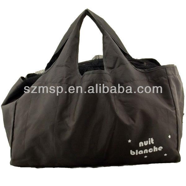 Large capacity foldable shopping bag