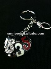 heart shaped key chains
