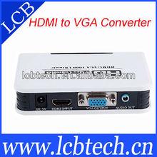 hdmi to vga converter box 1080P HD Video adapter
