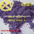 Dyestuffs / violeta directa RL / violeta 3