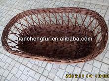 Popular Natural Nursery wicker/ moses basket bassinet for baby
