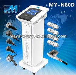 guangzhou /factory /MY-N80D 7IN1 /fat cavitation slimming equipment/RF Vacuum Cavitation Slimming equipment(CE)
