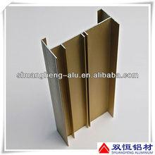 Aluminum C channel profile for window and door