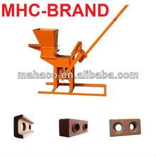 Large capaity Hand Operation block machine / Hand Operation clay block making machine