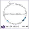 cristal de la moda collar de perlas n0174a