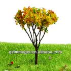 Large Model Tree for Train Layout Scenery Tree Metal Model Flower Tree