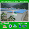 Two storey house,architectural design of prefab house for sale with ISO9001 AS/CE certificate