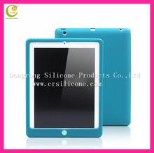 Purple embossed animal 3d design cute silicone case for ipad mini