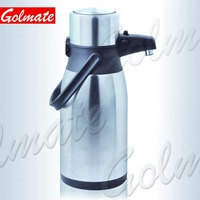 Penguen Shape Stainless Steel Insulated thermos vacuum airpot, pump pot, water jug, teapot, flask branded 2.0L, 2.2L, 2.5L, 3.0L