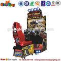 Haut rendement 2014 intérieur prépaiement jeux d'arcade de course de voiture à vendre