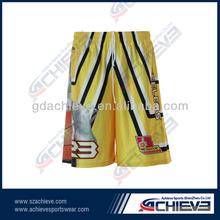 breathable shorts basketball jersey usa custom basketball tops&bottom jerseys 100% polyester sublimation