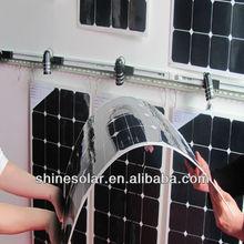 Flexible Solar Panel 110W monocrystalline for tent