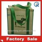 popular non woven long strap tote bag