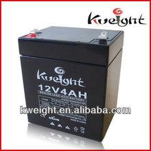 12V4Ah Valve regulated sealed lead acid battery for UPS