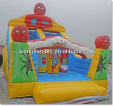 2013 Inflatable Super Spiderman Slide